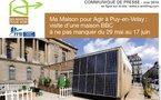 Ma Maison pour Agir à Puy-en-Velay : visite d'une maison BBC à ne pas manquer du 29 mai au 17 juin